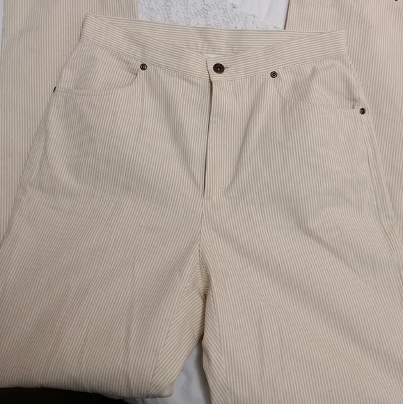 Liz Claiborne Denim - Pinstriped mom jeans
